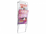 PT Chrome Steel Wire Magazine Rack