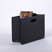 """FANCY NEWSPAPER RACK """"PURE"""" magazine box for newspapers and magazines from XTRADEFACTORY black"""