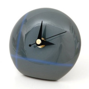 Jazzitup Funky Small Disc Glass Table Clock