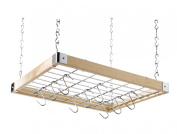 Hahn Ceiling Rack Square Wooden
