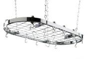 Hahn Ceiling Rack Oval Chrome