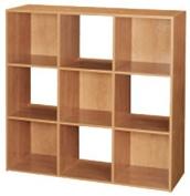 Cubeicals 9 Cube Alder Laminate Organiser