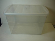100ltr Eco Base Storage Box Clear