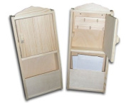 New Plain Wooden Key Cabinet with letter rack Key Storage Box