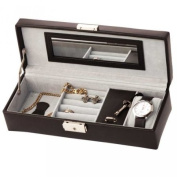 Leathersmith of London Gents Organiser Black
