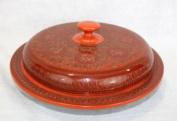 Farang Lacquerware snack box,cho-chin-hte,hand made in Burma