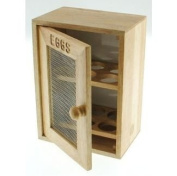 Wooden Egg Storage Cabinet by verygoodbuys