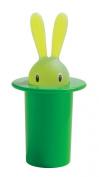 A di Alessi Magic Bunny Toothpick Holder, Green