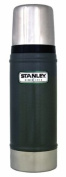 Stanley Classic Stainless Steel Vacuum Insulated Flask Bottle - 0.47L | Hammertone Green
