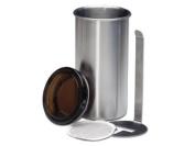 CHG 3186-00 Coffee Pod Tin 8.5 cm H 16.5 cm
