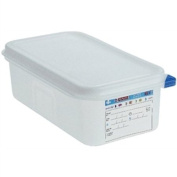 Araven Food Container - 2.8 litre (1/4 GN). 100(h) x 265(w) x 162(d)mm. Box quantity