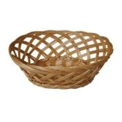JVL 23 x 18 x 9 cm Oval Steamed Open Willow Basket