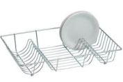 Flat Chrome Dish Drainer By Impressions
