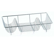 Sabichi Single Dish Drainer Made of High Quality Stainless Steel Material