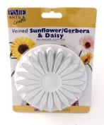XXL Veined Sunflower Gerbera & Daisy Plunger Cutter for Icing & Cake Decoration