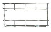 Andrew James 2 Tier Spice / Herb Rack Wall Mountable or Kitchen Cupboard Storage