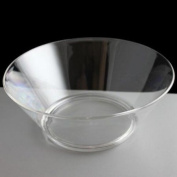 Large Clear Virtually Unbreakable Plastic Serving Bowl
