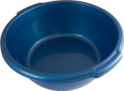 Blue Plastic Round 36cm Mulit-Purpose Kitchen Washing Up Bowl w/ Handles