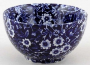 Burleigh Blue Calico Sugar Bowl Small