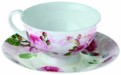 Nuova R2S - Romantic roses - Tea cup and saucer