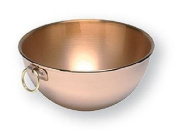 Mauviel Beating Bowl, Copper,20 cm