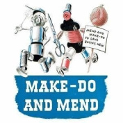 Make Do and Mend Drinks Mat / Coaster