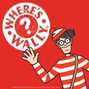 Where's Wally Single Coaster