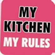 Boxer Gifts My Kitchen My Rules Coaster
