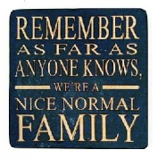 Boxer Gifts Coaster Nice Normal Family