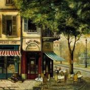 Pimpernel Parisian scene Coasters - set of 6