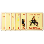 Guinness Cork 6 Pk Coasters