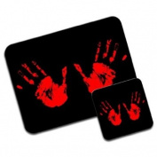 Hand Prints Premium Mousematt & Coaster Set