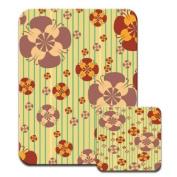 Petal Power Premium Mousematt & Coaster Set