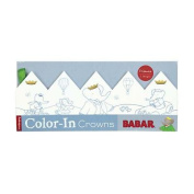 Babar Color-In Crowns