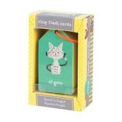 Spanish to English Ring Flash Cards