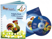 PetraLingua French for Kids-Course Activity Book with Audio CD