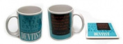 IWDSC 0199-2072199 Ceramic Dentist Mug and Coaster Set