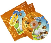 PetraLingua® Spanish DVD Course for Kids 2 Video DVDs, 21 Lessons