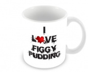 I Love Food Mug - Figgy Pudding