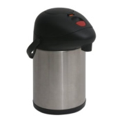 Airpot 3.0 litre stainless Steel Pump Pot with lock.