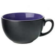 Utopia Barista Cappuccino Cup Indigo 14oz / 400ml | Porcelain Coffee Cups, Barista Style Coffee Cups, Utopia Tableware