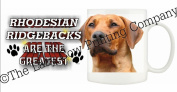 Rhodesian Ridgeback DOG Ceramic Mug 300ml Dishwasher proof 203