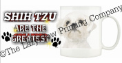 Shih tzu (WT & BK)DOG Ceramic Mug 300ml Dishwasher proof 228