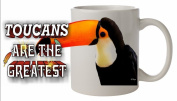 Toucan BIRD Ceramic Mug 300ml Dishwasher proof 48