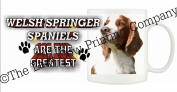 Welsh Springer Spaniel DOG Ceramic Mug 300ml Dishwasher proof 251