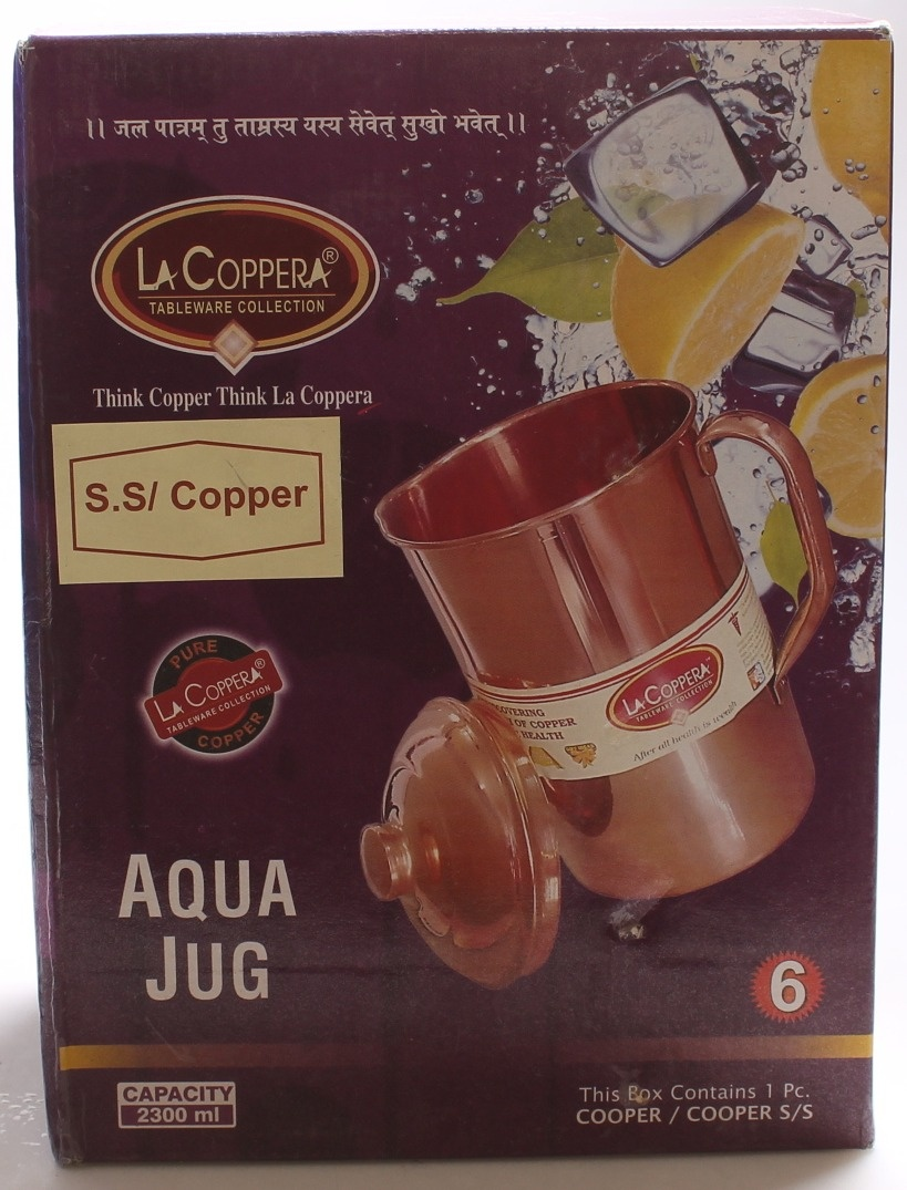 & Copper Water Jug Health Kitchen: Buy Online from Fishpond.co.nz