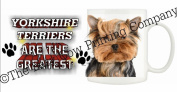 Yorkshire Terrier (Scruffy) DOG Ceramic Mug 300ml Dishwasher proof 261
