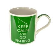 Keep Calm And Go Fishing - Fine China Mug