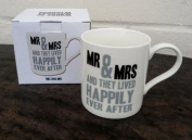 Words of Wisdom Mug - Mr & Mrs Mug - Gift Boxed