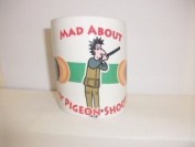 Mad about Clay Pigeon Shooting Mug Cup Sports Memorabilia